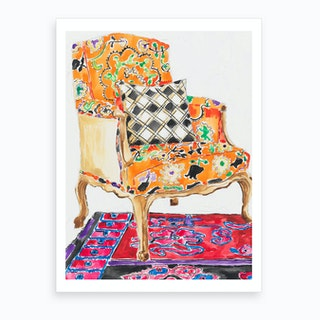 Anna Chair Art Print