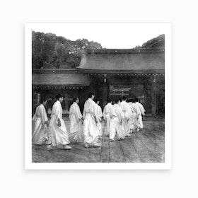 Buddhist Monks Art Print