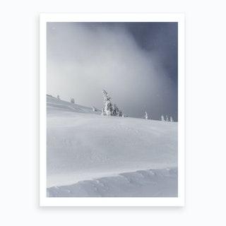 Near The Summit Art Print