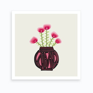 Floral Vibes Ix Art Print