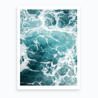 Wave Crush I Art Print