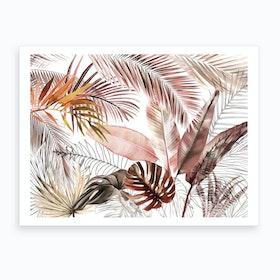 Tropical Foliage 3 Art Print