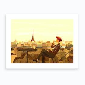 Life In Paris Art Print