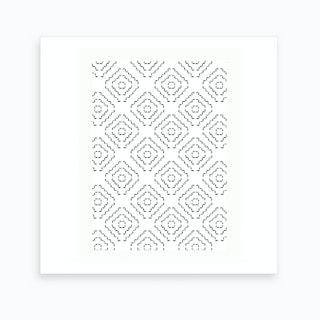 Patterns   Mosaic Art Print
