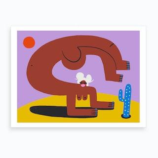 Passion And Power Scorpio Art Print