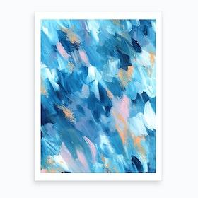 Blue Aesthetic 2 Art Print