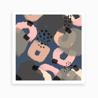 The Deep Blue Series III Art Print