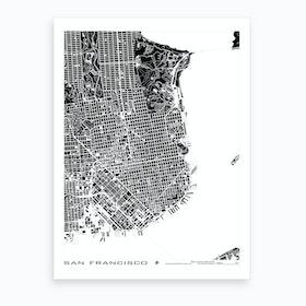 San Francisco B&W Art Print