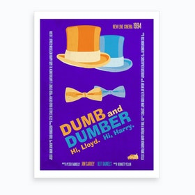 Dumb And Dumber Art Print