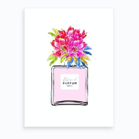Botanical Parfum Pastel Art Print