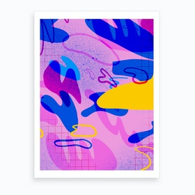 Shapes And Lines Art Print