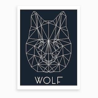 Wolf 3 Art Print