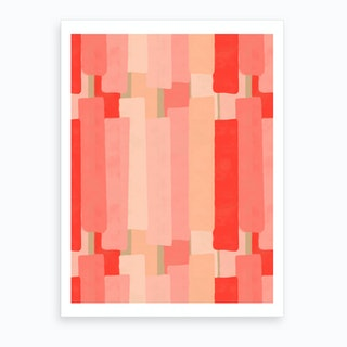 Like In Coral Art Print