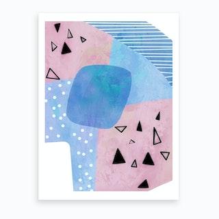 Blue Mint Art Print