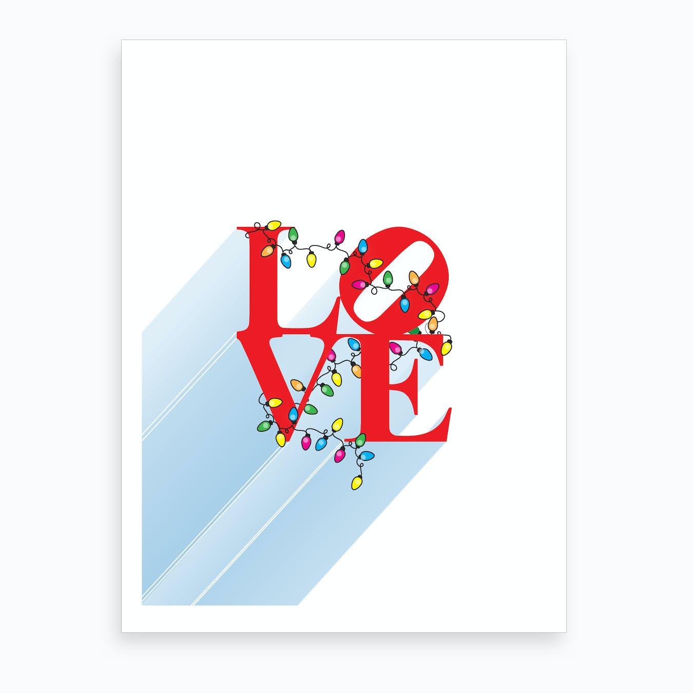 Love Christmas In NYC Art Print
