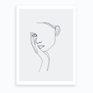 Gia Art Print