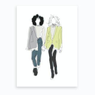 Emis Art Print