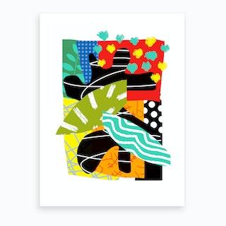Malibu Polka 4 Art Print