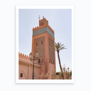 Moroccan Mosque Marrakech 2 Art Print