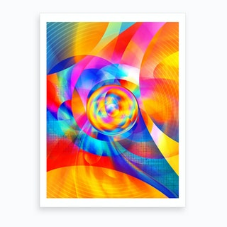 Geometric IX Art Print