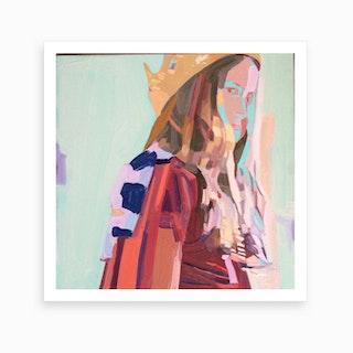 id 4 Art Print