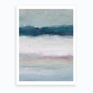 Lullaby Waves I Art Print