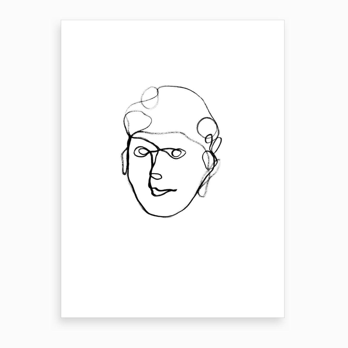 Avery Art Print