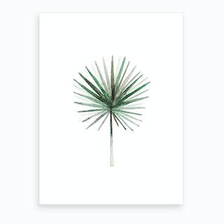 Simple Palm Leaf Art Print