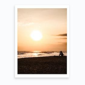 Sunset Beach 2 Art Print