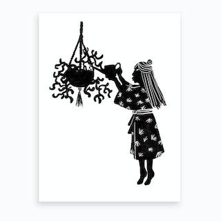 Sunday Caring Art Print