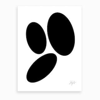 Perfect Pebbles Art Print