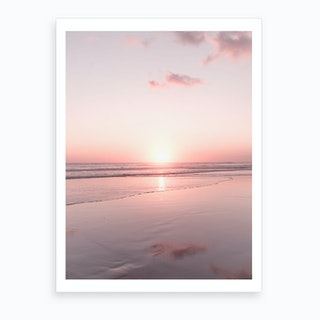 Bali Sunset III Art Print