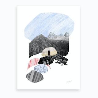 Content Art Print