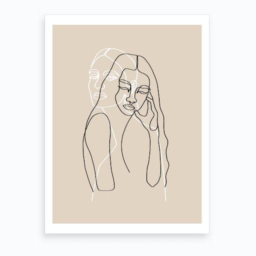 Alma & Wanda Art Print