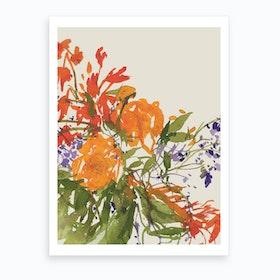 Sumida Flower 2 Art Print