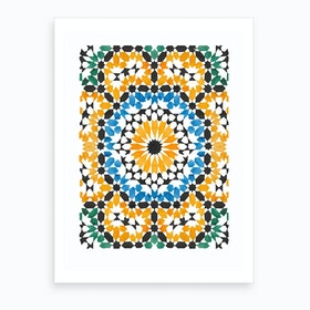 Pattens Mosaic Art Print