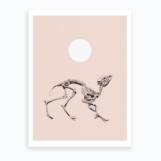 Dancing Fossils Art Print
