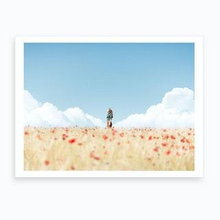 How Does It Field Art Print