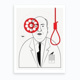 Hitchcock Directors Cut Art Print
