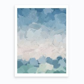 Waves On The Horizon Art Print
