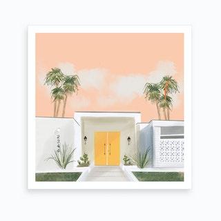 Palm Springs No1 Art Print