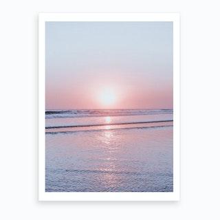 Bali Sunset V Art Print
