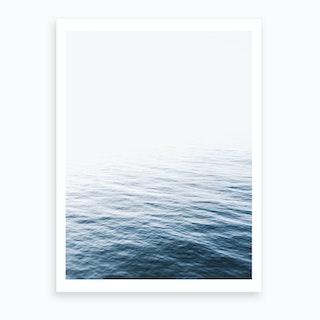 Blue Ocean I Art Print