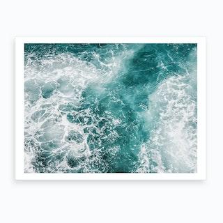 Wave Crush III Art Print