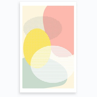 Lost In Shapes Ii Art Print