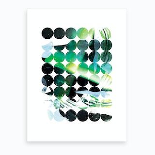 Circa Green Art Print