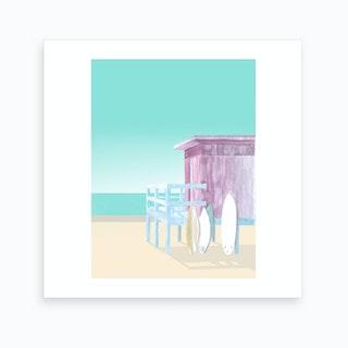 Salt&Surf   Surf Club Art Print