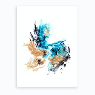 Staghorn Art Print
