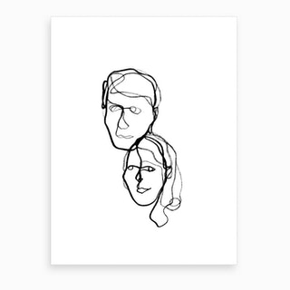 The Coopers Art Print