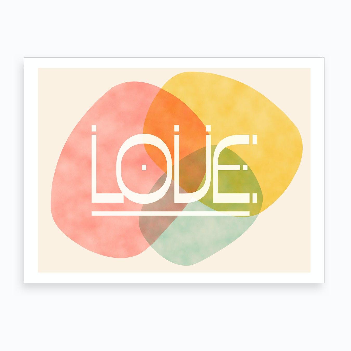 Stones Of Love Art Print